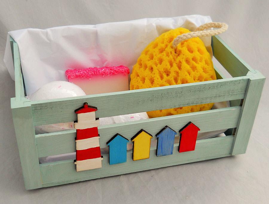 Seaside Bathroom Box. Nautical Seaside Gifts