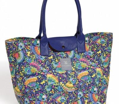 Applique Cord Tote Bag