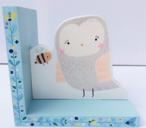 Woodland Friends Owl Bookend Image