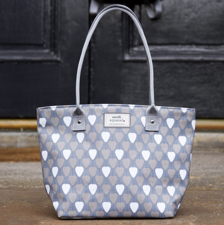 Grey Lantern Tote Bag