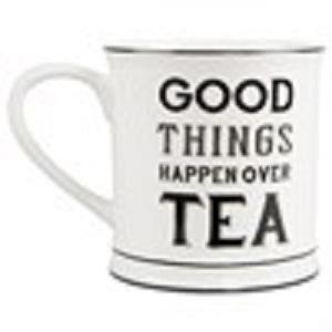 Good Things Happen Over Tea Ceramic Mug