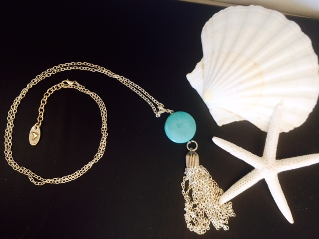 Beautiful Blue Kirsty Necklace