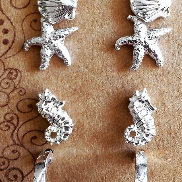 5 Pairs For Natical Earrings. Great Value.