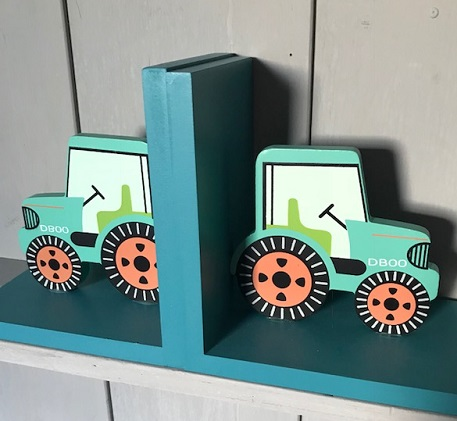 Terrific Tractor  Book Ends