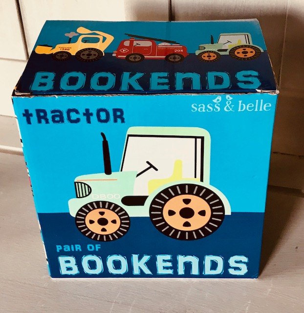 Tractor Bookends Gift For Children