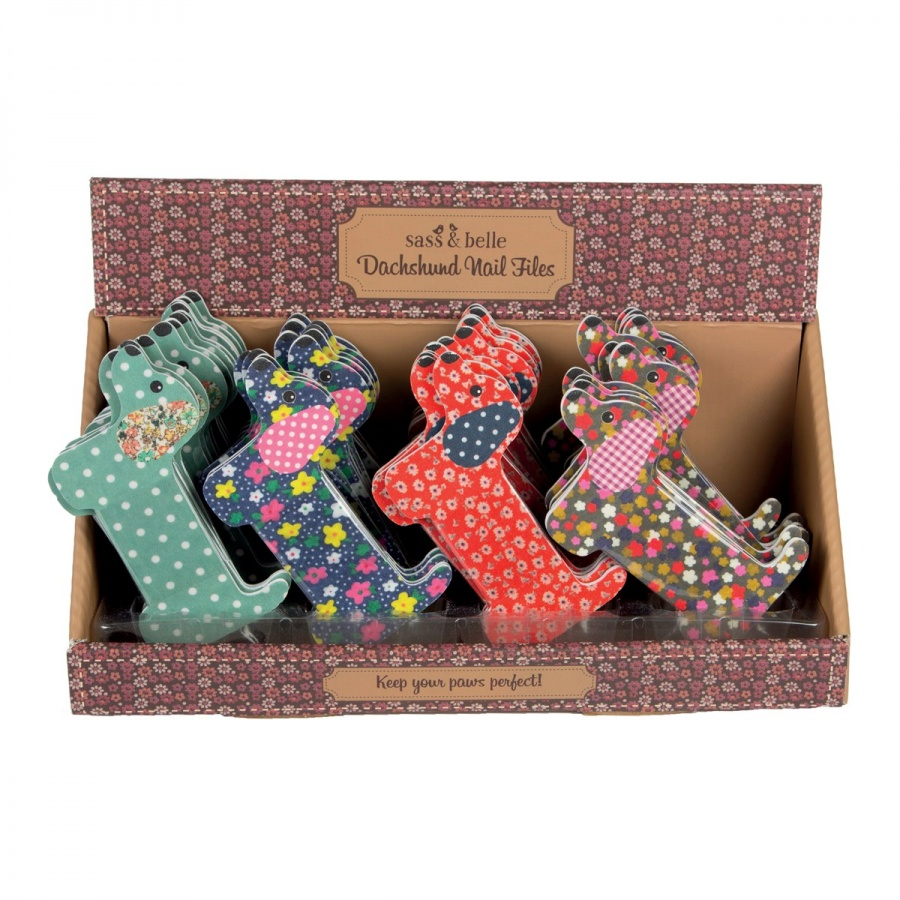 Dashing Duchshund Nail Files - For Well Groomed Dog Lovers.