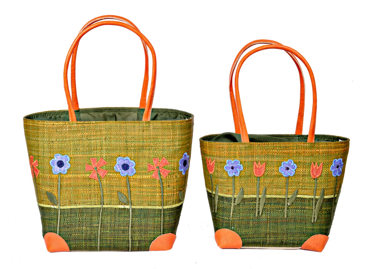 Fabulous Floral  Madaraff Basket