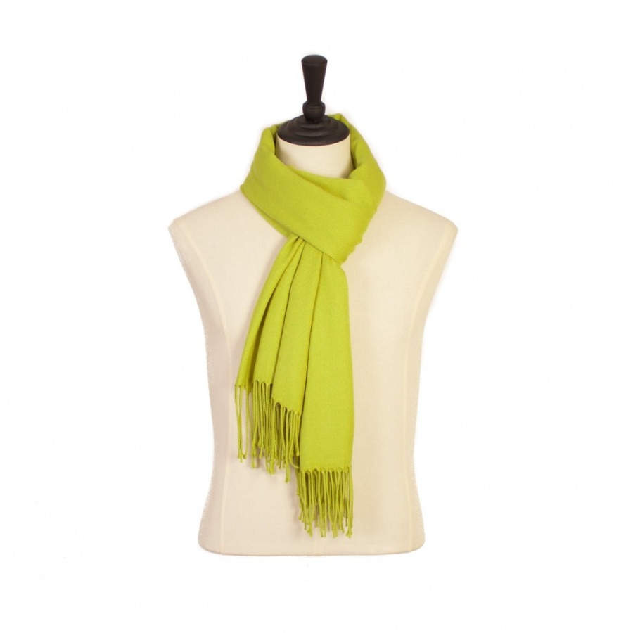 PASHMINA ANISEED GREEN. SOFT AND WARM TO WRAP AROUND YOU