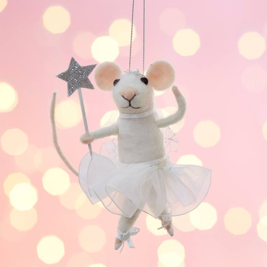 Dancing Molly Mouse Tree Decoration WITH FREE POSTAGE!