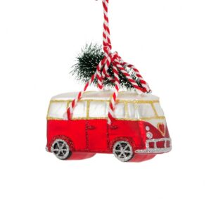 Christmas camper van tree decoration with free postage