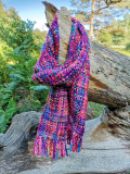 Stunning Handmade Chunky Scarves In Assorted Colours