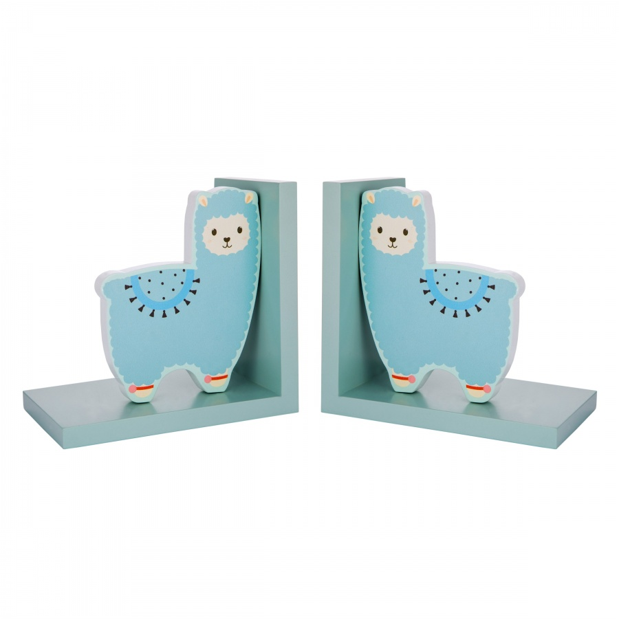 Little Llama Book Ends With Free Postage