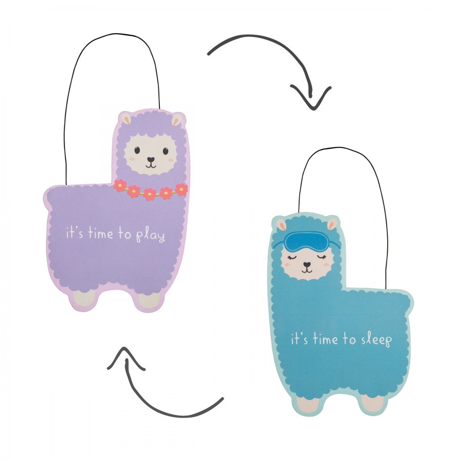 Larma Its Time To Sleep Door Hanging Decoration With Free Postage